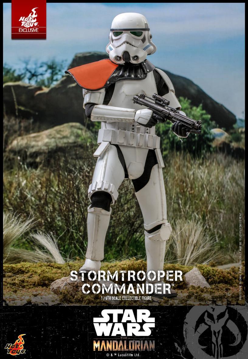 Stormtrooper Commander - The Mandalorian - Hot Toys Stormt48