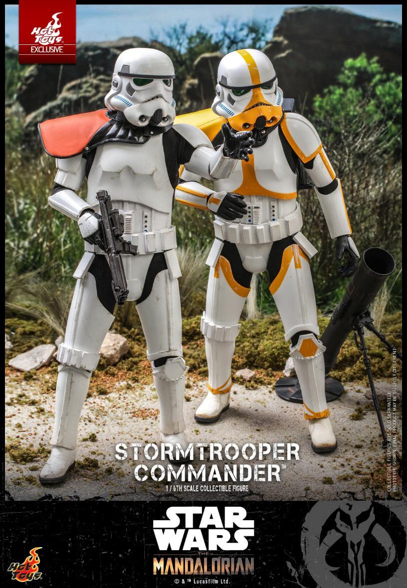 Stormtrooper Commander - The Mandalorian - Hot Toys Stormt49