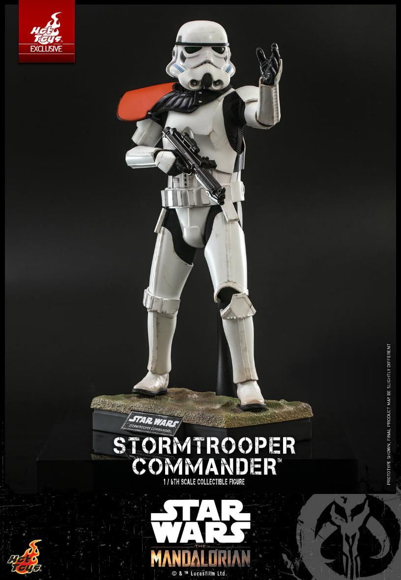 Stormtrooper Commander - The Mandalorian - Hot Toys Stormt50