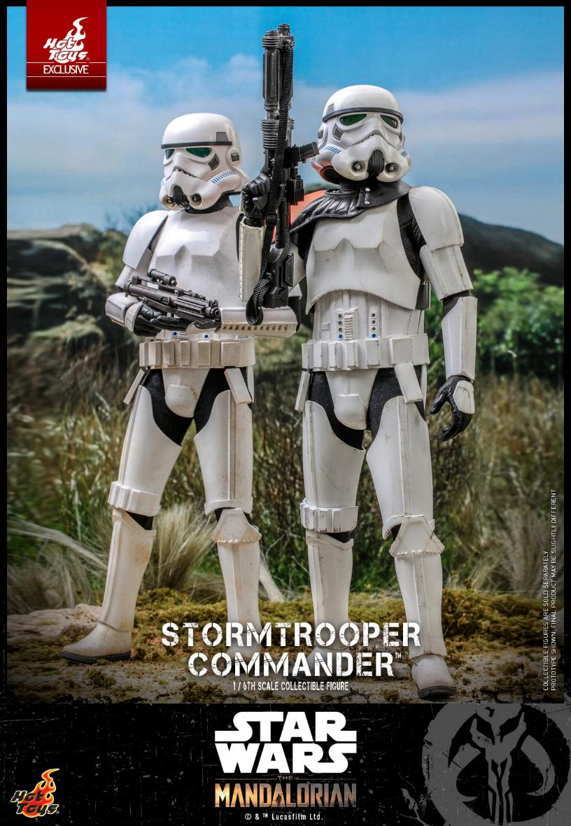 Stormtrooper Commander - The Mandalorian - Hot Toys Stormt51