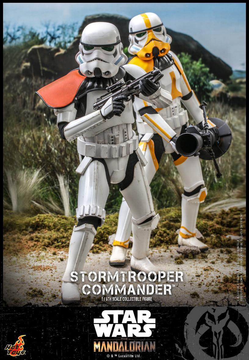 Stormtrooper Commander - The Mandalorian - Hot Toys Stormt52