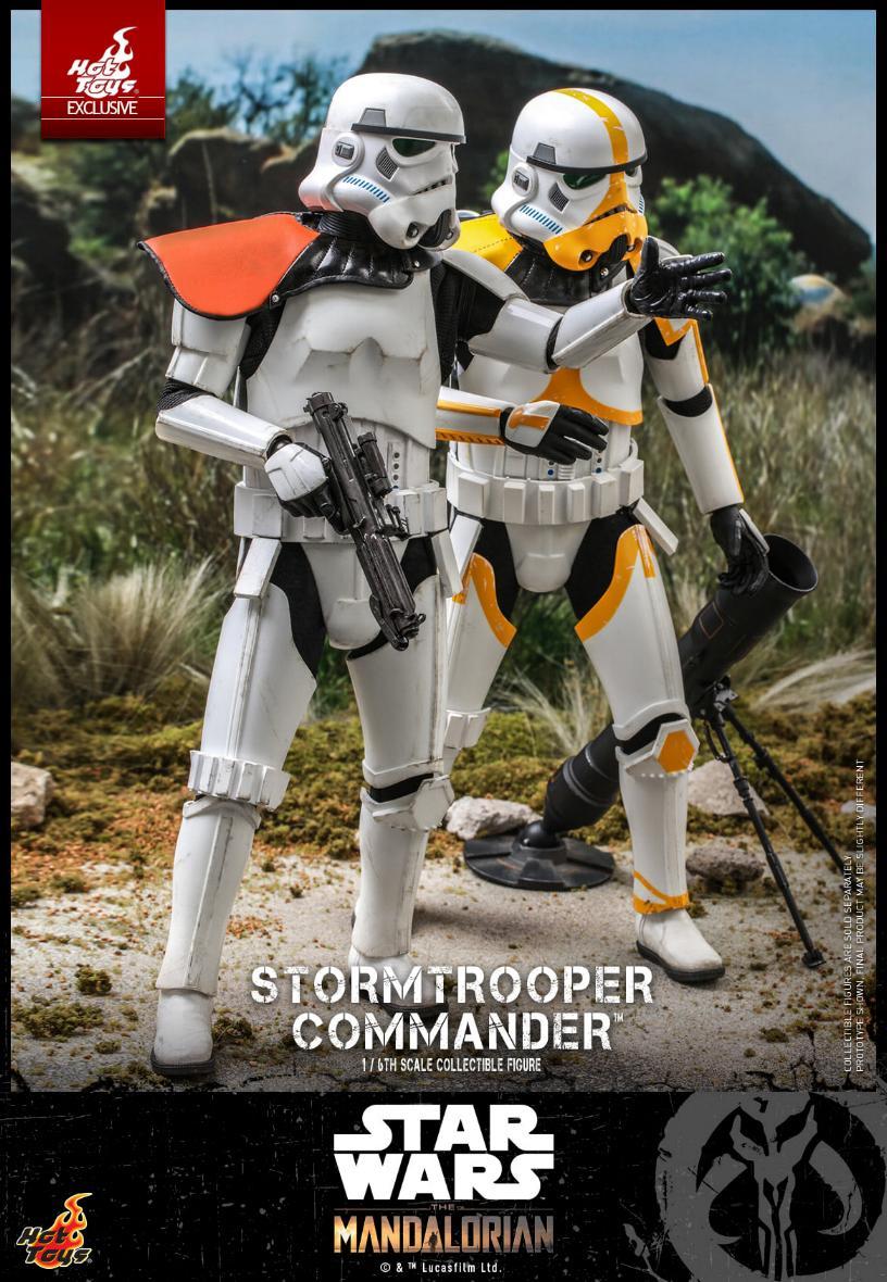 Stormtrooper Commander - The Mandalorian - Hot Toys Stormt53