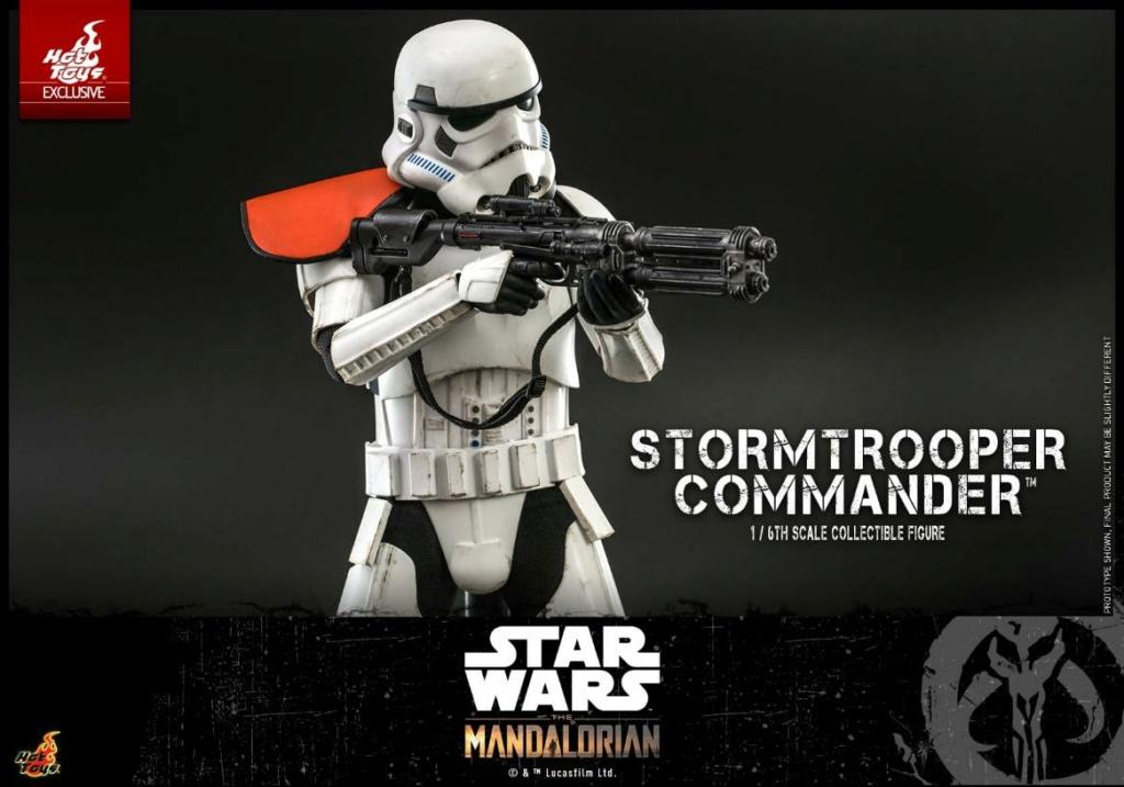 Stormtrooper Commander - The Mandalorian - Hot Toys Stormt56