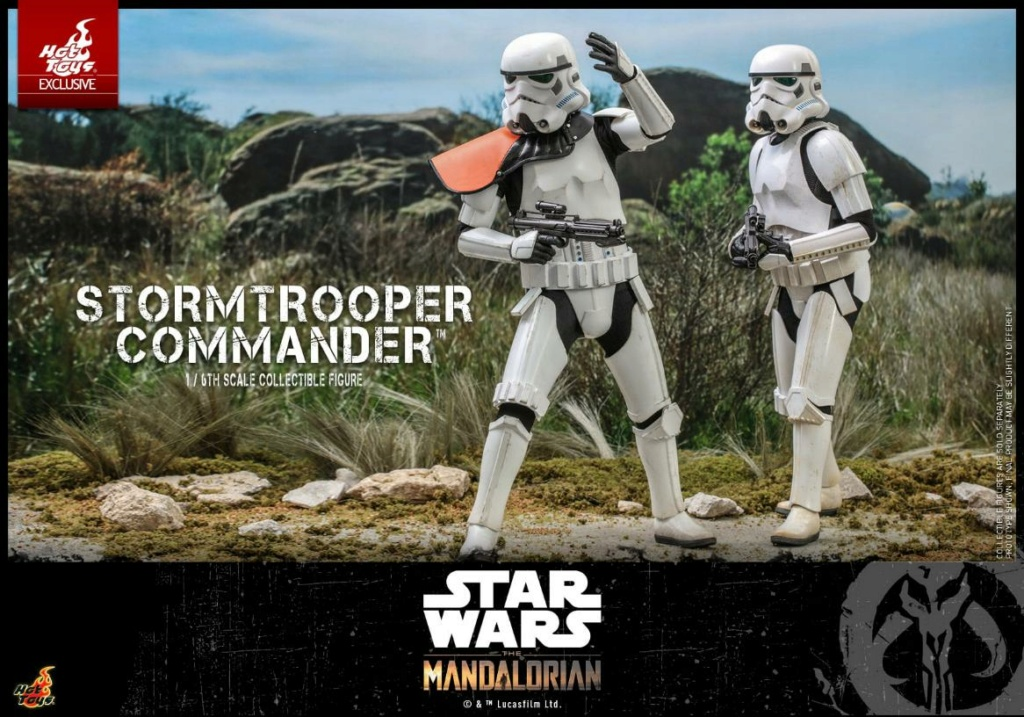 Stormtrooper Commander - The Mandalorian - Hot Toys Stormt58