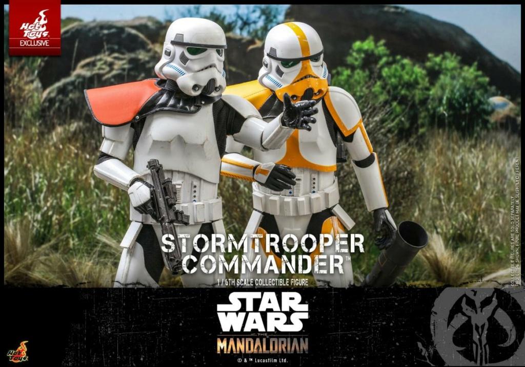Stormtrooper Commander - The Mandalorian - Hot Toys Stormt62