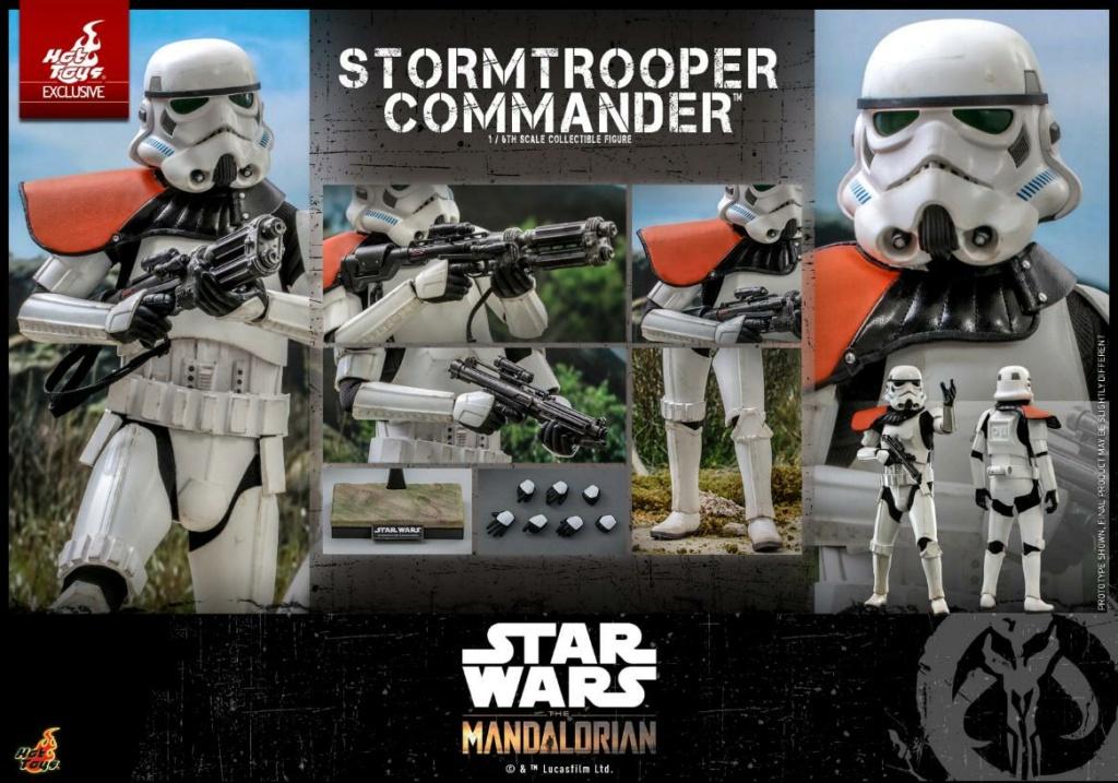 Stormtrooper Commander - The Mandalorian - Hot Toys Stormt63