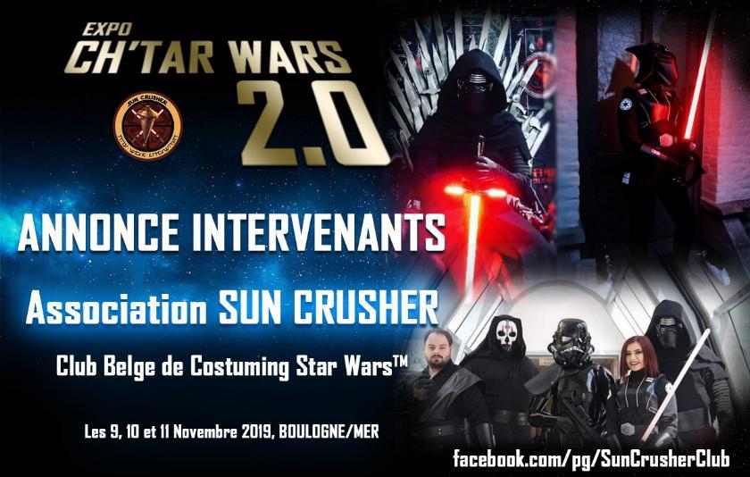 Expo CH'TAR WARS 2.0 Du 09 au 11 Novembre 2019 Sun_cr10