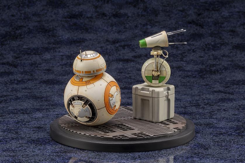 Star Wars BB-8 & D-0 ARTFX Statue - Kotobukiya Sw156_11