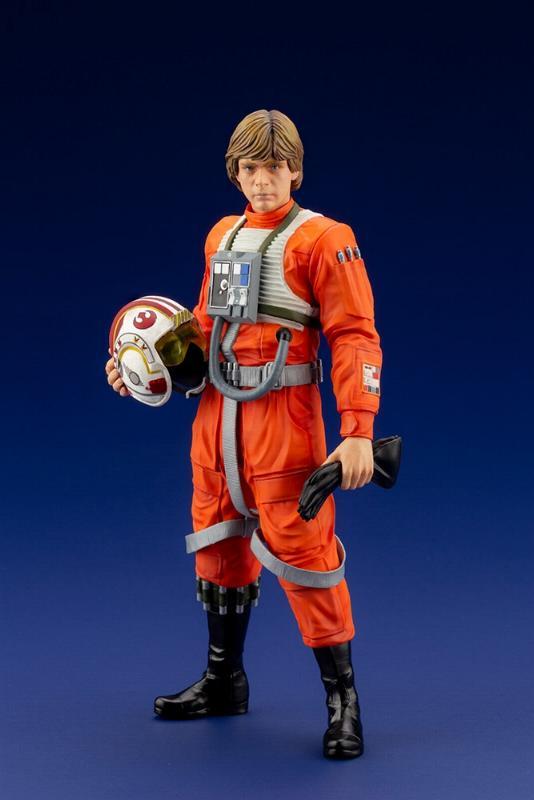 Luke Skywalker ANH Pilot - ARTFX+ 1/10th - Kotobukiya Sw163_10