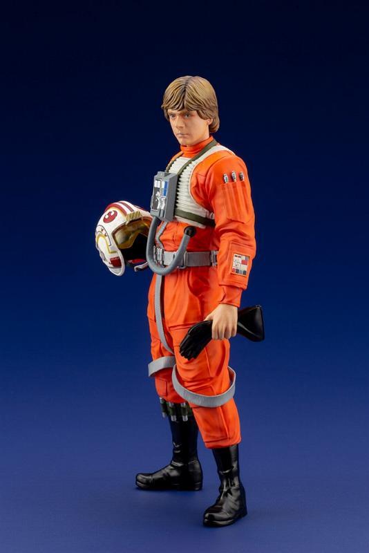 Luke Skywalker ANH Pilot - ARTFX+ 1/10th - Kotobukiya Sw163_11