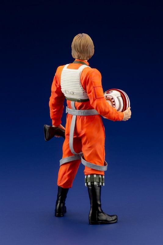 Luke Skywalker ANH Pilot - ARTFX+ 1/10th - Kotobukiya Sw163_12