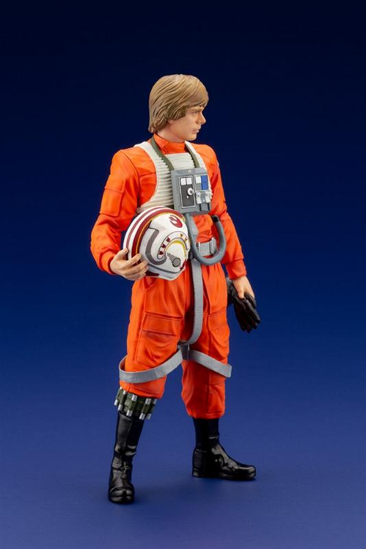 Luke Skywalker ANH Pilot - ARTFX+ 1/10th - Kotobukiya Sw163_13