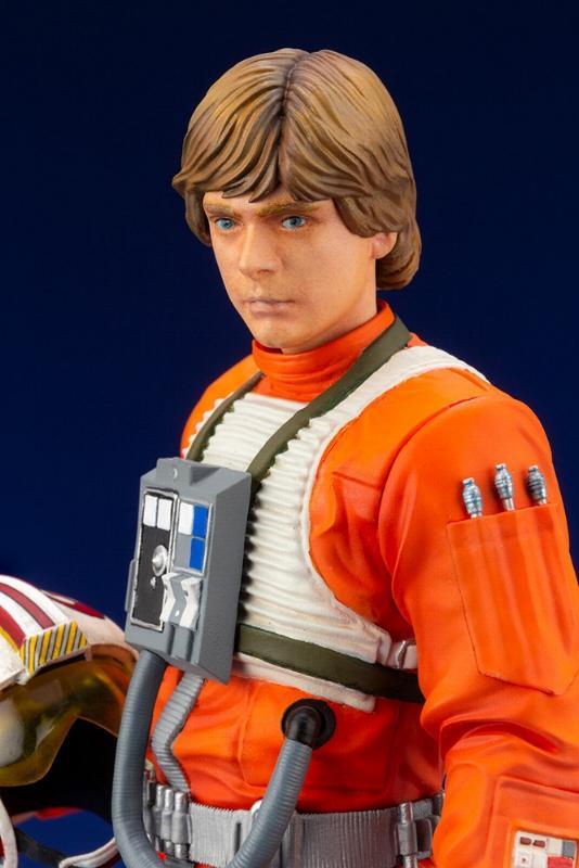 Luke Skywalker ANH Pilot - ARTFX+ 1/10th - Kotobukiya Sw163_16