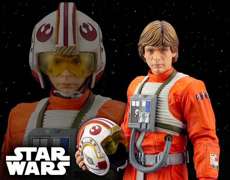 Luke Skywalker ANH Pilot - ARTFX+ 1/10th - Kotobukiya Sw163_26