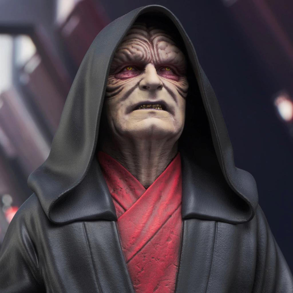 Palpatine Mini Bust - The Rise Of Skywalker - Gentle Giant Sw_emp10