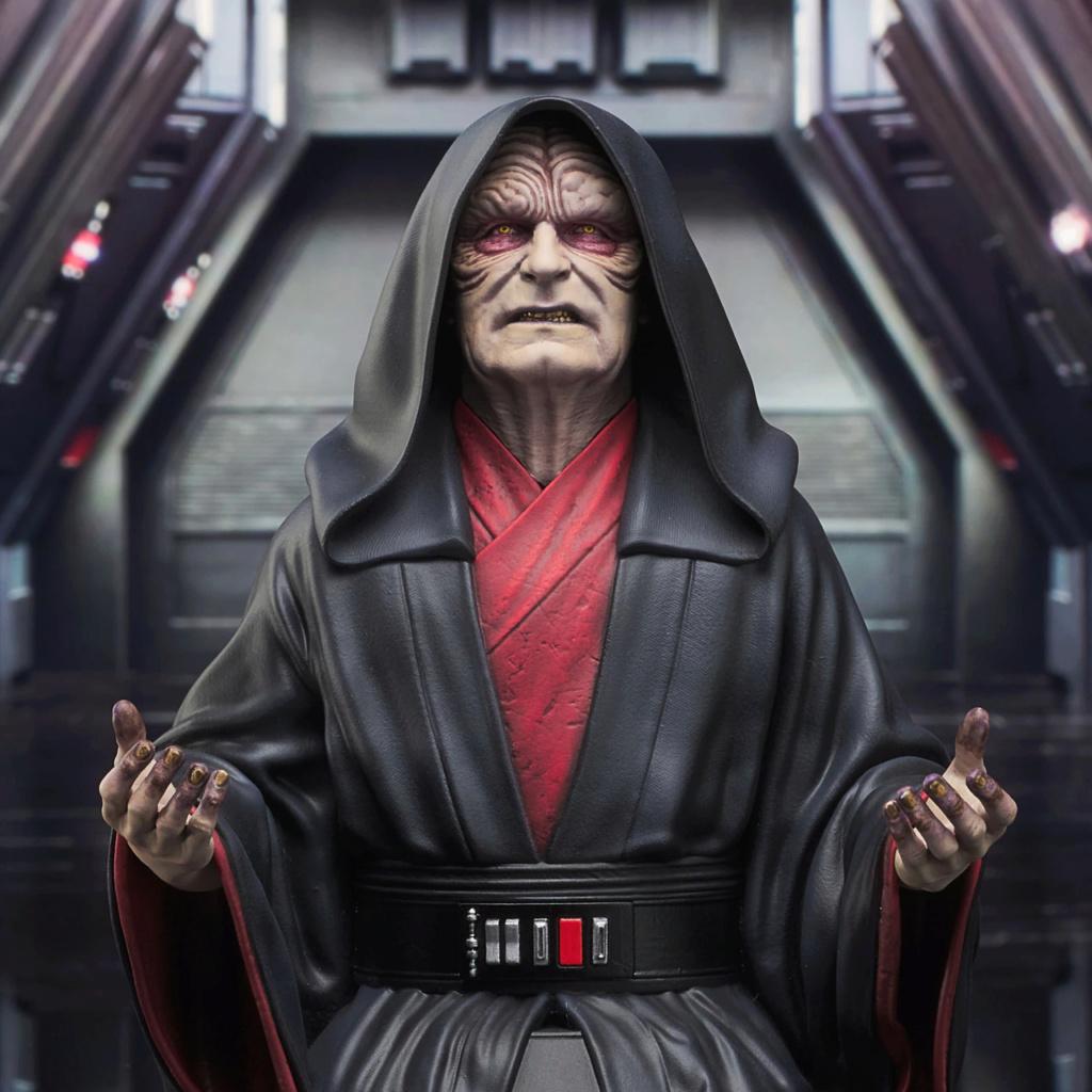 Palpatine Mini Bust - The Rise Of Skywalker - Gentle Giant Sw_emp11