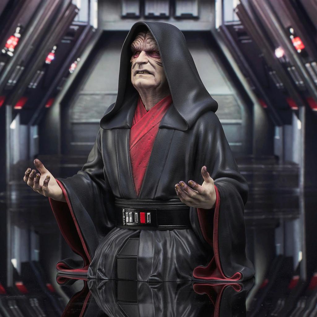 Palpatine Mini Bust - The Rise Of Skywalker - Gentle Giant Sw_emp13