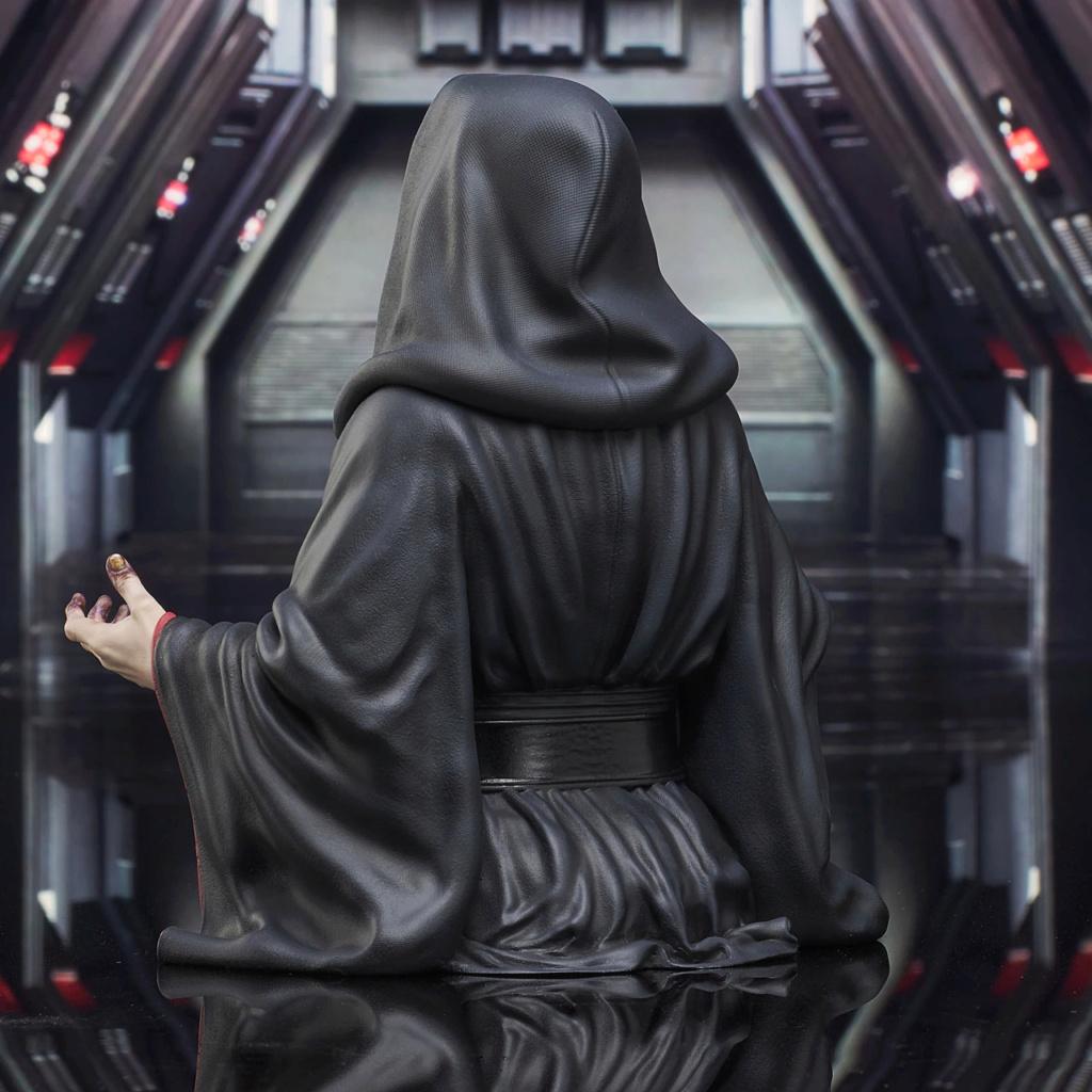 Palpatine Mini Bust - The Rise Of Skywalker - Gentle Giant Sw_emp14