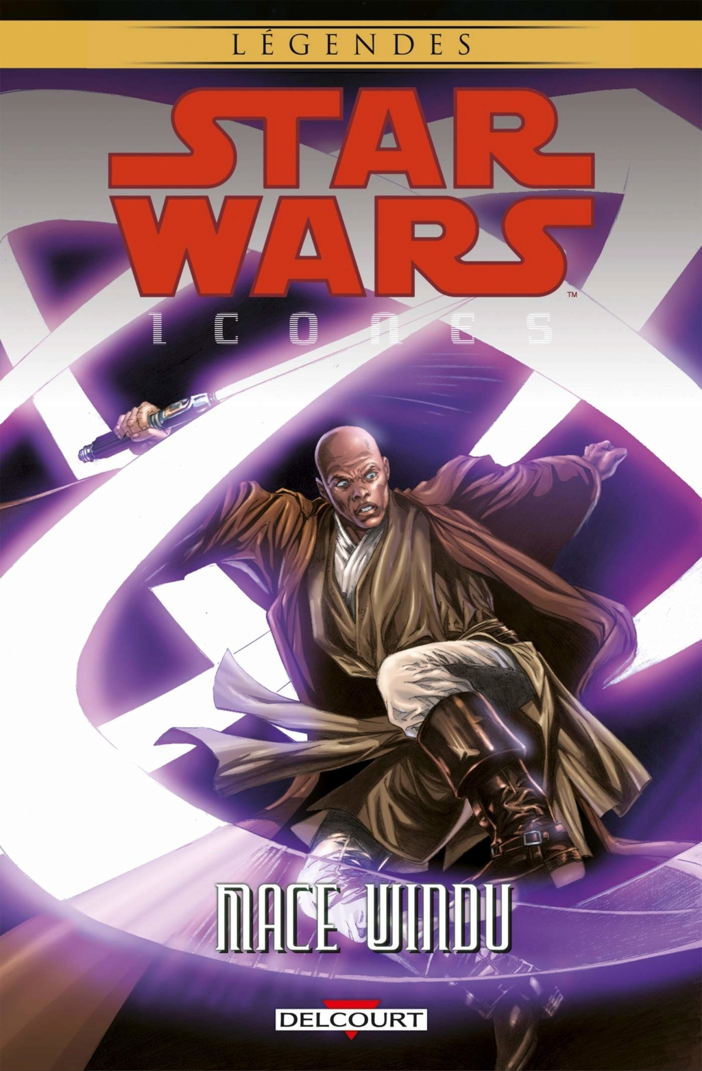 Star Wars Icones 09 : Mace Windu - DELCOURT Sw_ico16