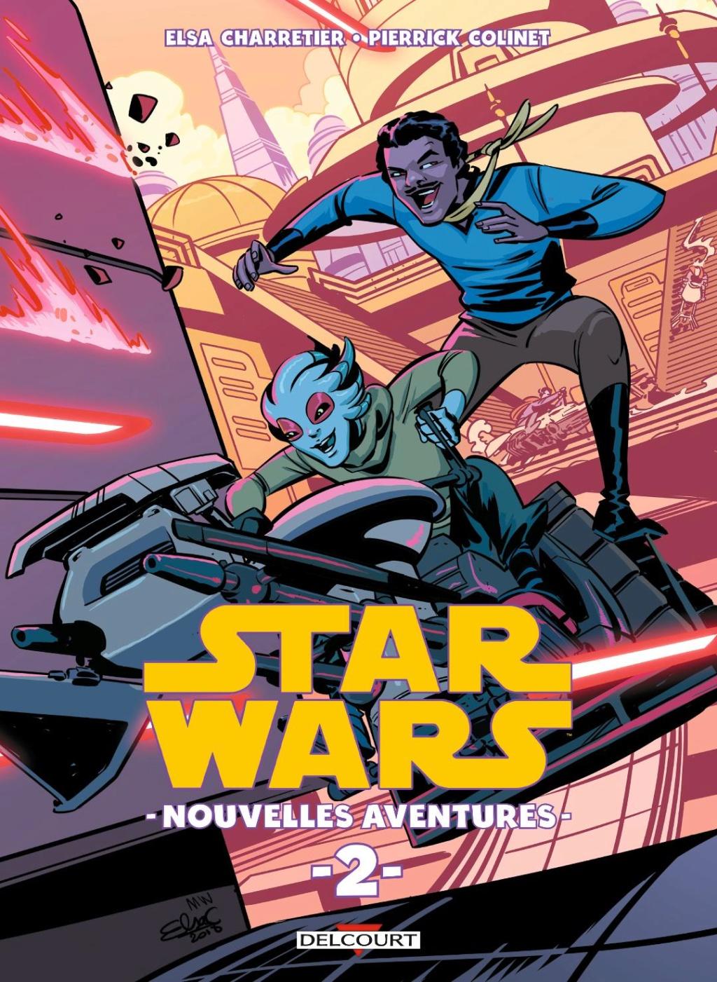 Star Wars Nouvelles Aventures Tome 02 - DELCOURT Sw_nou12