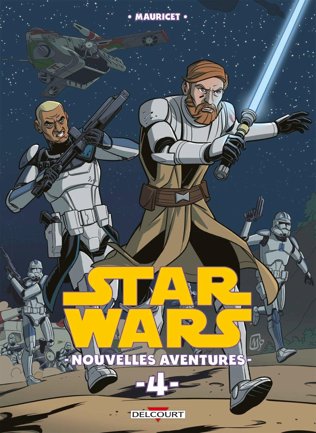 Star Wars Nouvelles Aventures Tome 04 - DELCOURT Sw_nou14