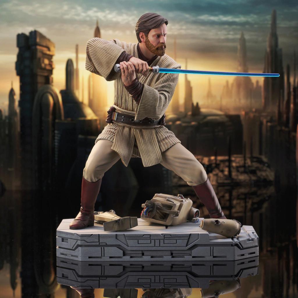 Obi Wan Kenobi Milestone Statue - Gentle Giant / DST Sw_obi10