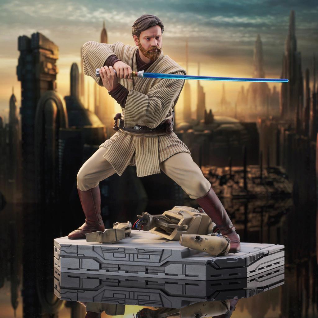Obi Wan Kenobi Milestone Statue - Gentle Giant / DST Sw_obi11