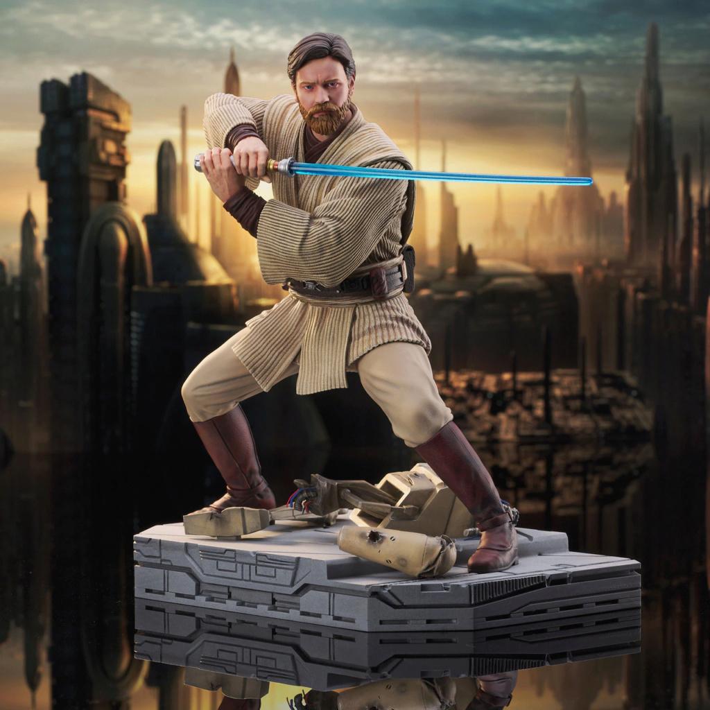 Obi Wan Kenobi Milestone Statue - Gentle Giant / DST Sw_obi12
