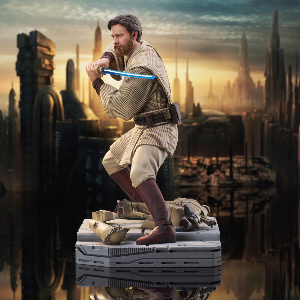 Obi Wan Kenobi Milestone Statue - Gentle Giant / DST Sw_obi13