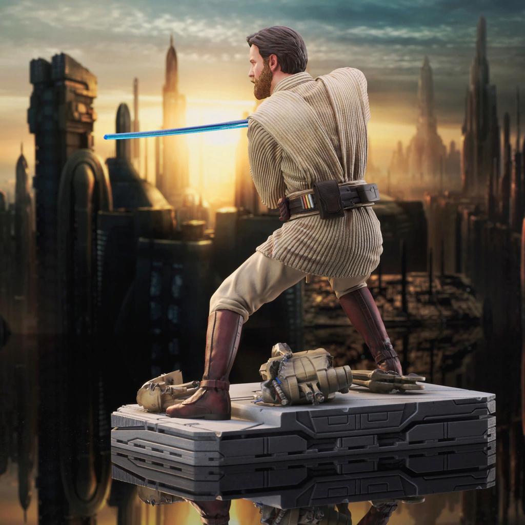 Obi Wan Kenobi Milestone Statue - Gentle Giant / DST Sw_obi14