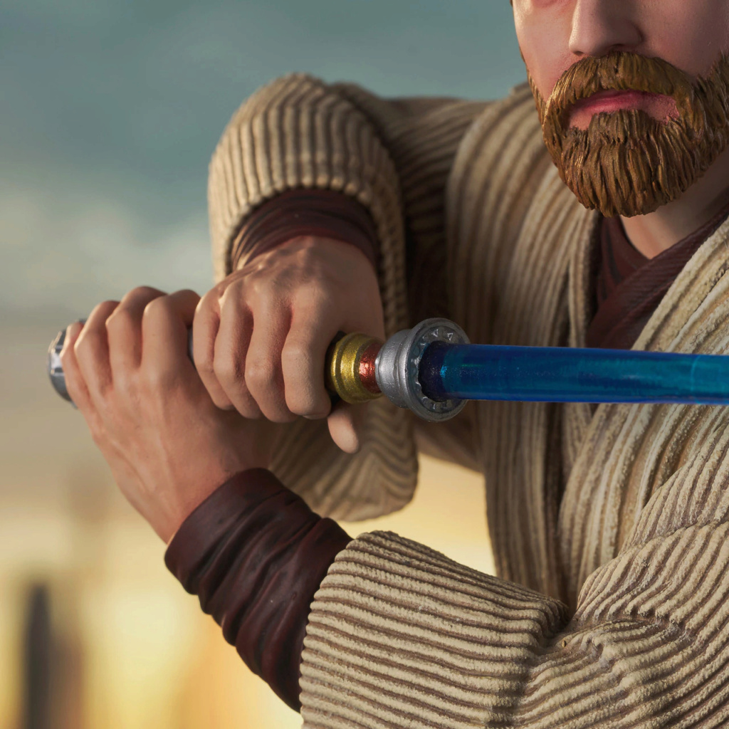 Obi Wan Kenobi Milestone Statue - Gentle Giant / DST Sw_obi18