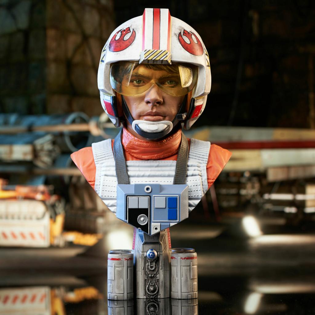 Luke Skywalker X-Wing Pilot Legends in 3D Bust  Gentle Giant Sw_pil11