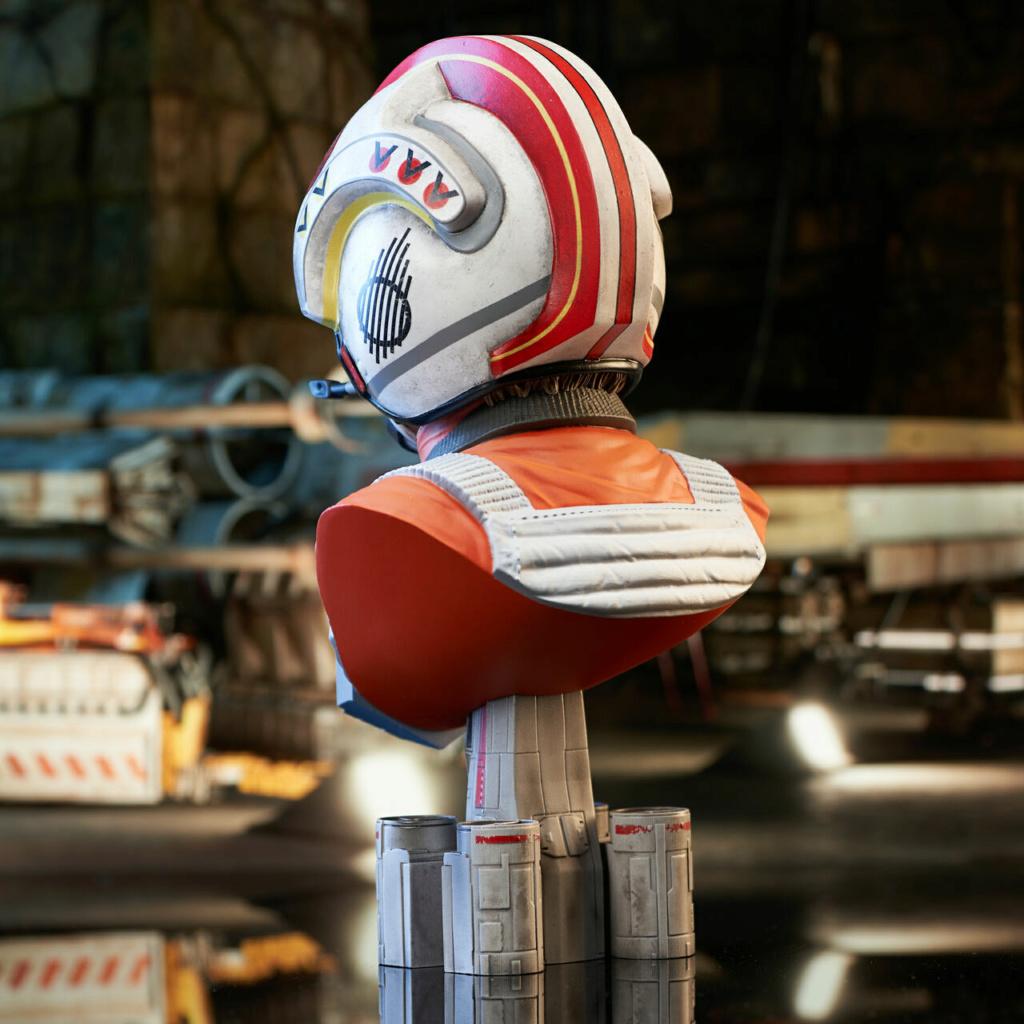 Luke Skywalker X-Wing Pilot Legends in 3D Bust  Gentle Giant Sw_pil12