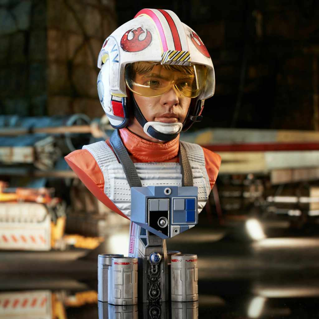 Luke Skywalker X-Wing Pilot Legends in 3D Bust  Gentle Giant Sw_pil13