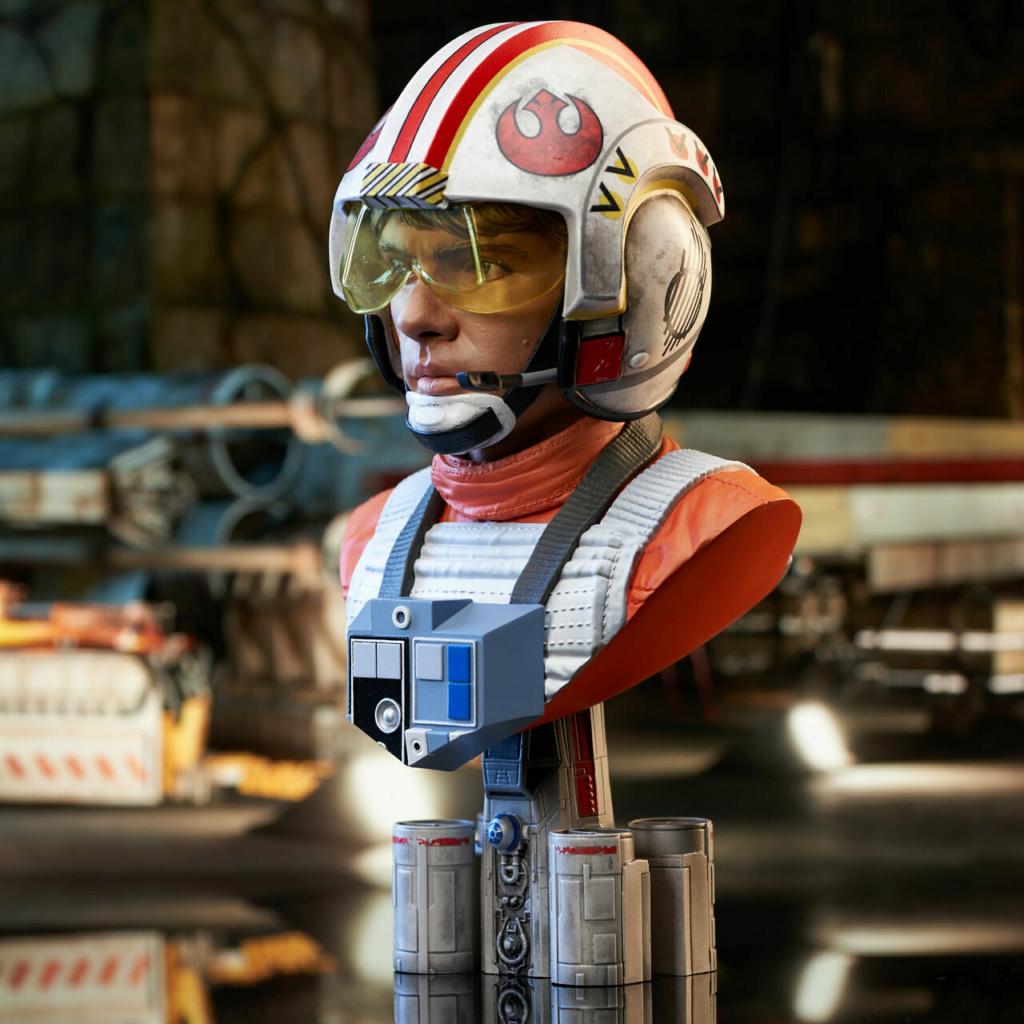 Luke Skywalker X-Wing Pilot Legends in 3D Bust  Gentle Giant Sw_pil15