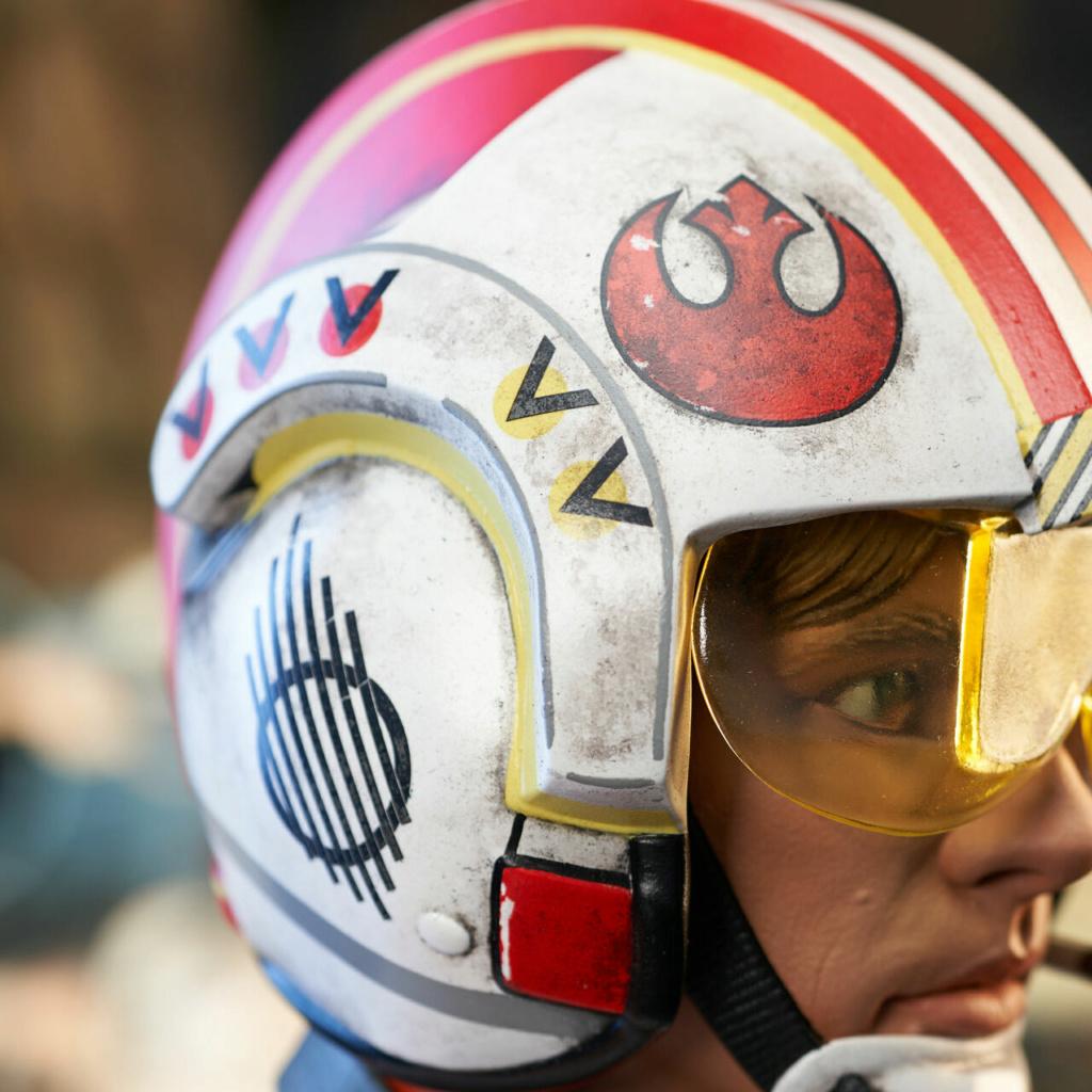 Luke Skywalker X-Wing Pilot Legends in 3D Bust  Gentle Giant Sw_pil18