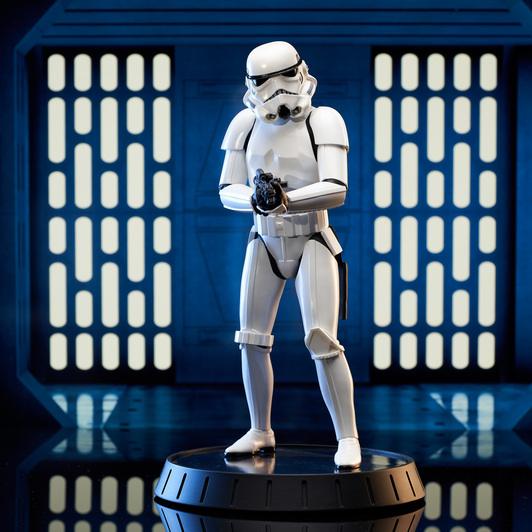 Stormtrooper AHN Milestone Statue - Gentle Giant Sw_sto10