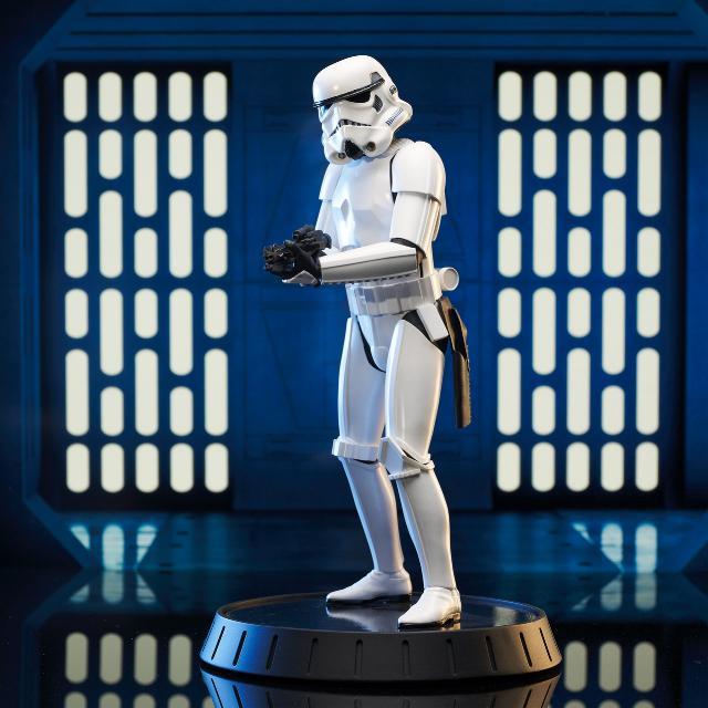 Stormtrooper AHN Milestone Statue - Gentle Giant Sw_sto11
