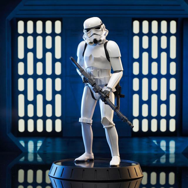 Stormtrooper AHN Milestone Statue - Gentle Giant Sw_sto14