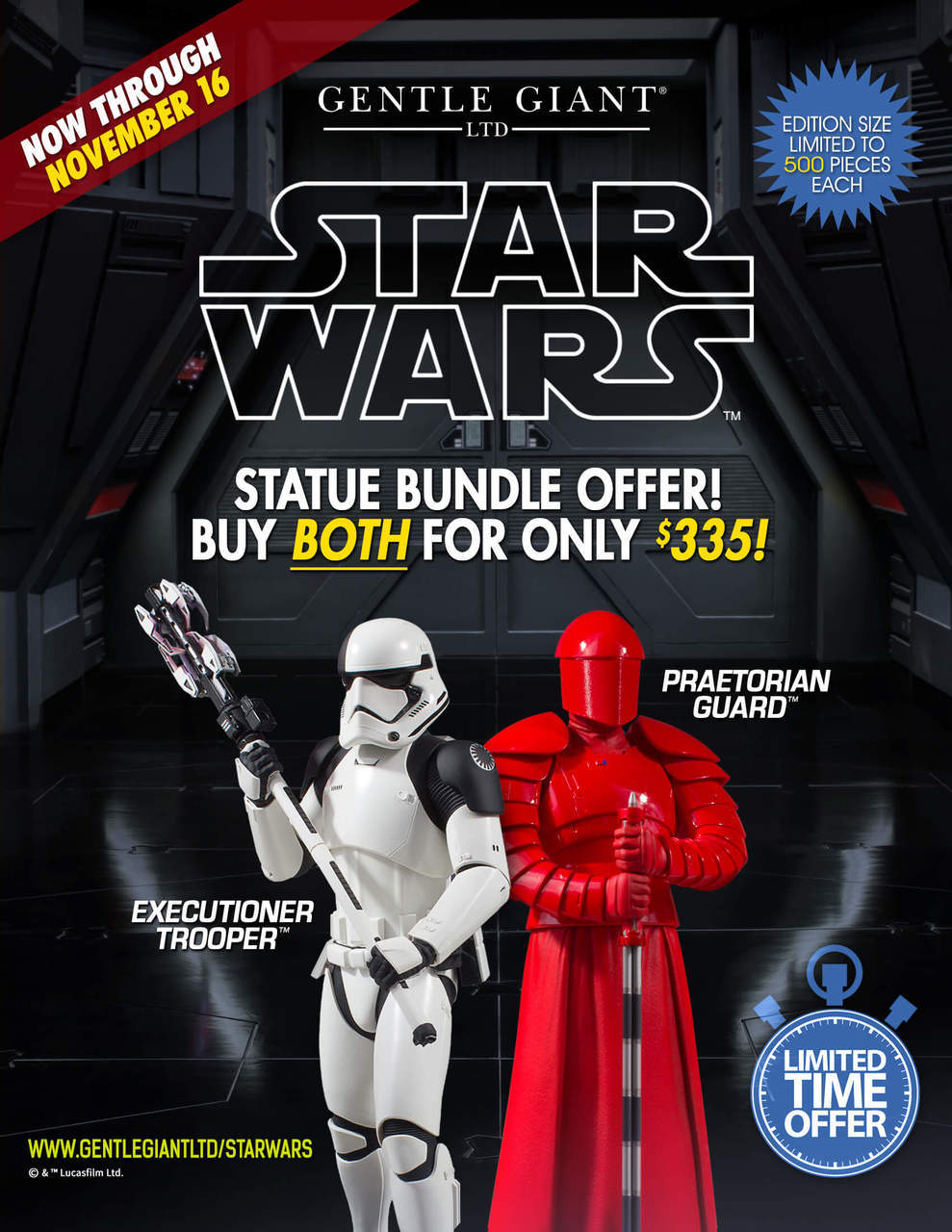 Gentle Giant - First Order Executioner 1/6th scale statue Swstat10