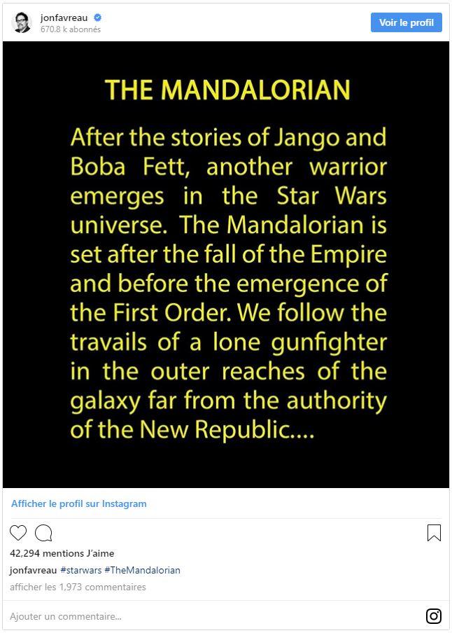 Les NEWS de la série Star Wars The Mandalorian Synop10