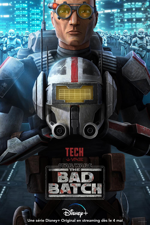 Star Wars The Bad Batch : Les NOUVELLES de la série Tech10