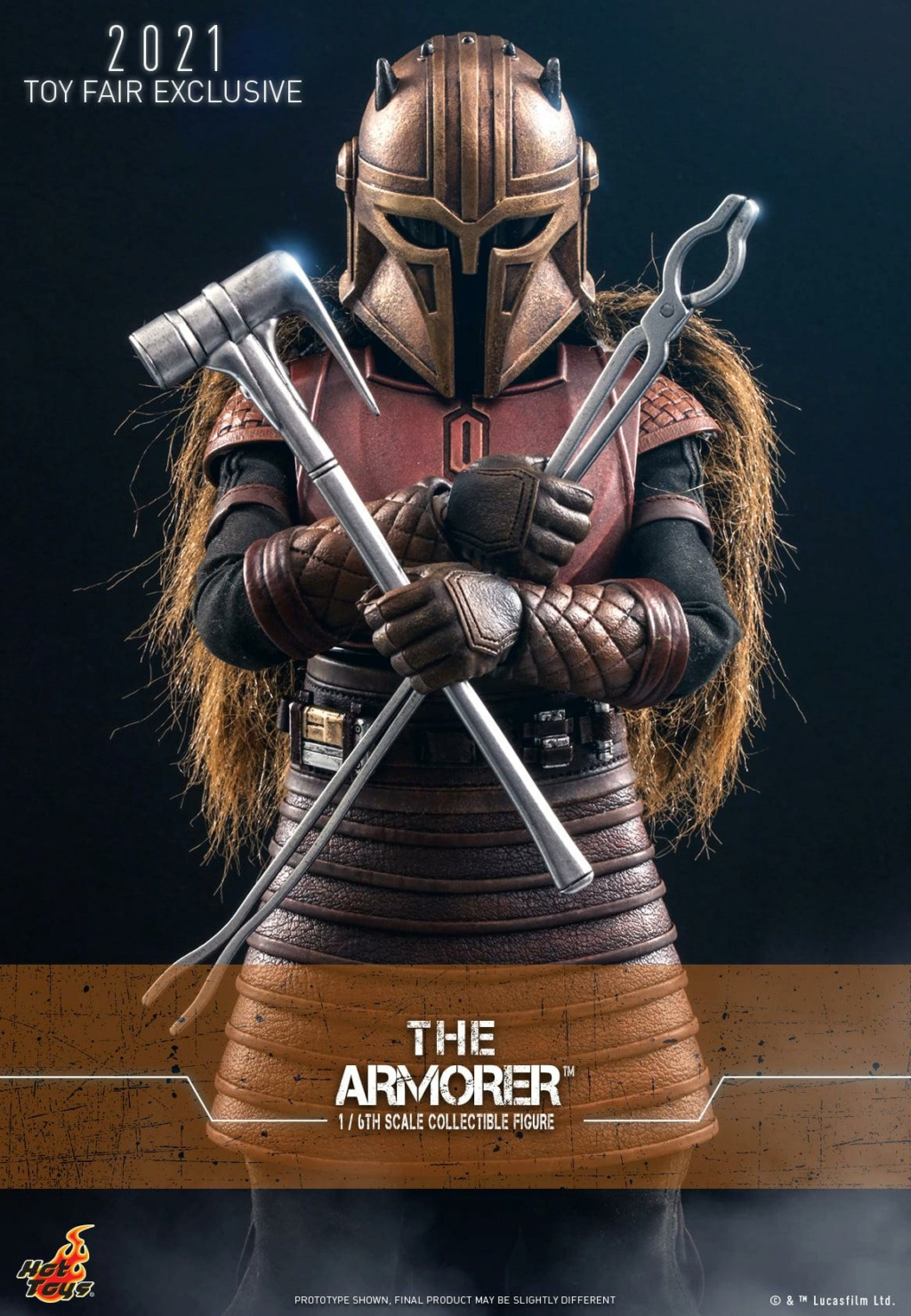 The Armorer Collectible Figure - 1/6th scale - Hot Toys The_ar11