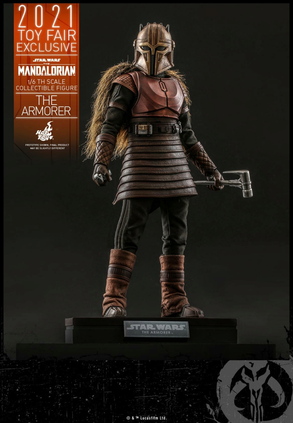 The Armorer Collectible Figure - 1/6th scale - Hot Toys The_ar12