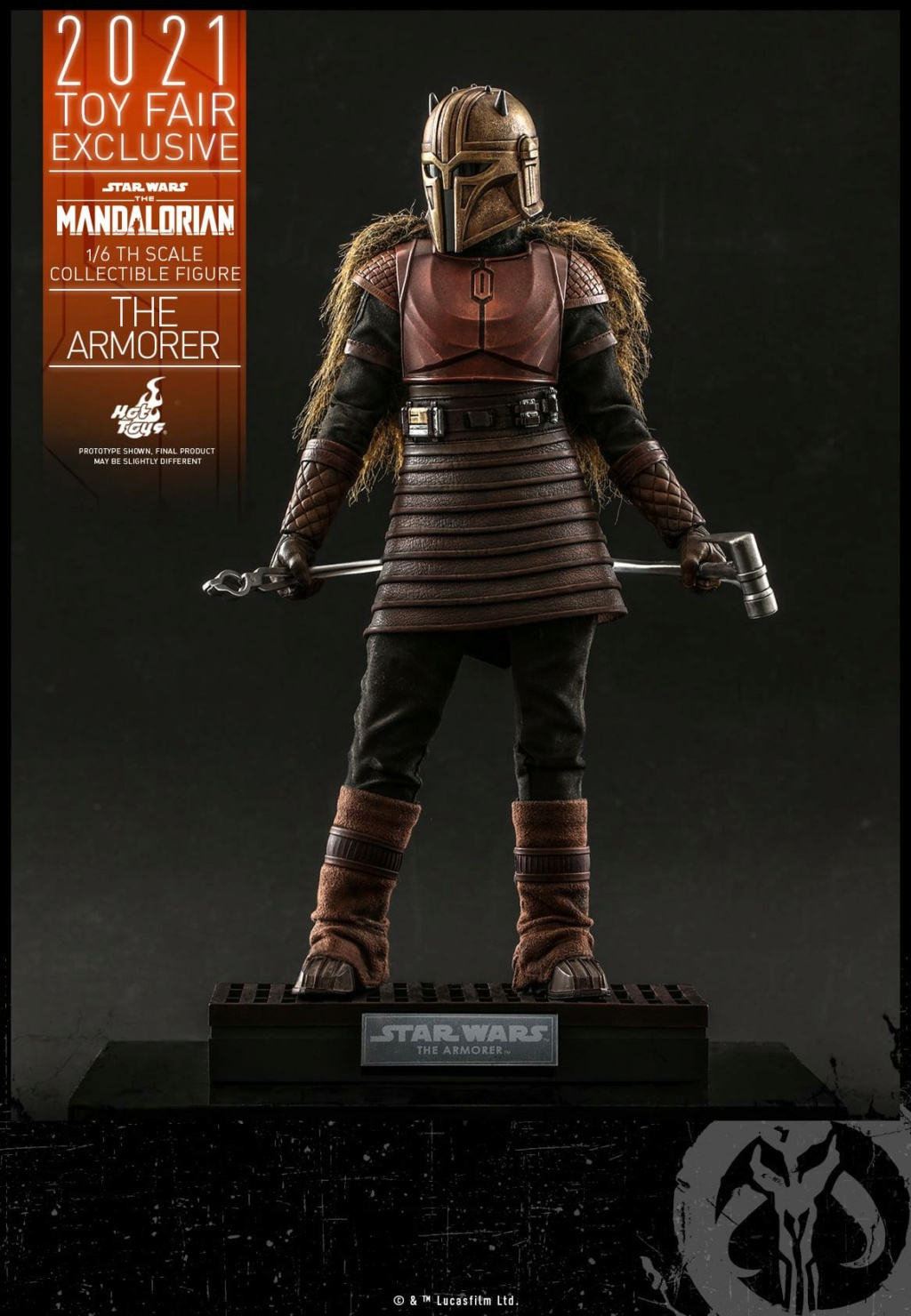 The Armorer Collectible Figure - 1/6th scale - Hot Toys The_ar14