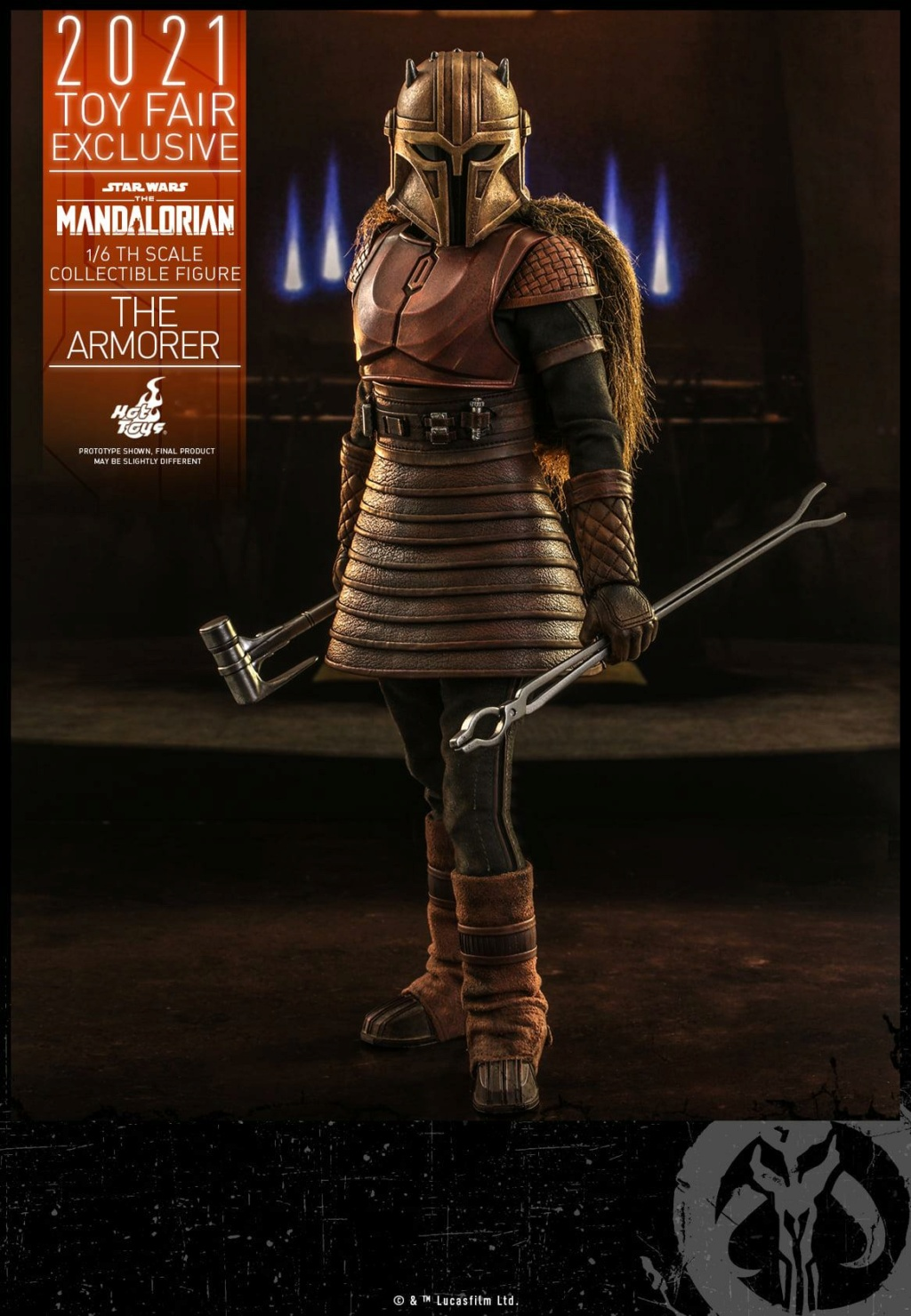 The Armorer Collectible Figure - 1/6th scale - Hot Toys The_ar15
