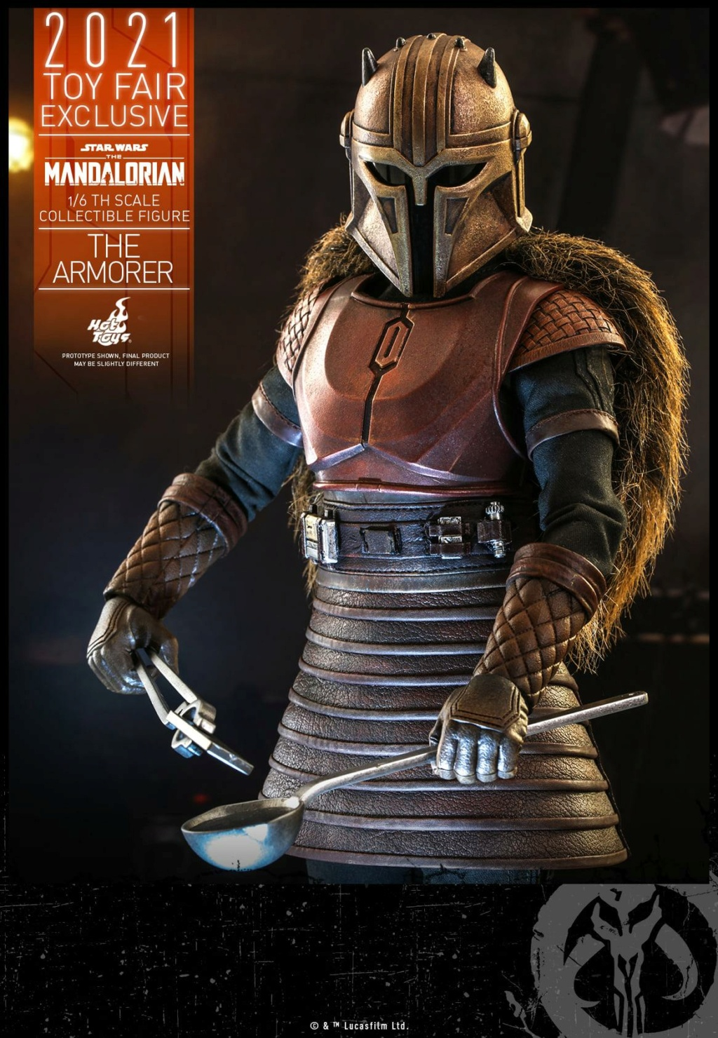 The Armorer Collectible Figure - 1/6th scale - Hot Toys The_ar16