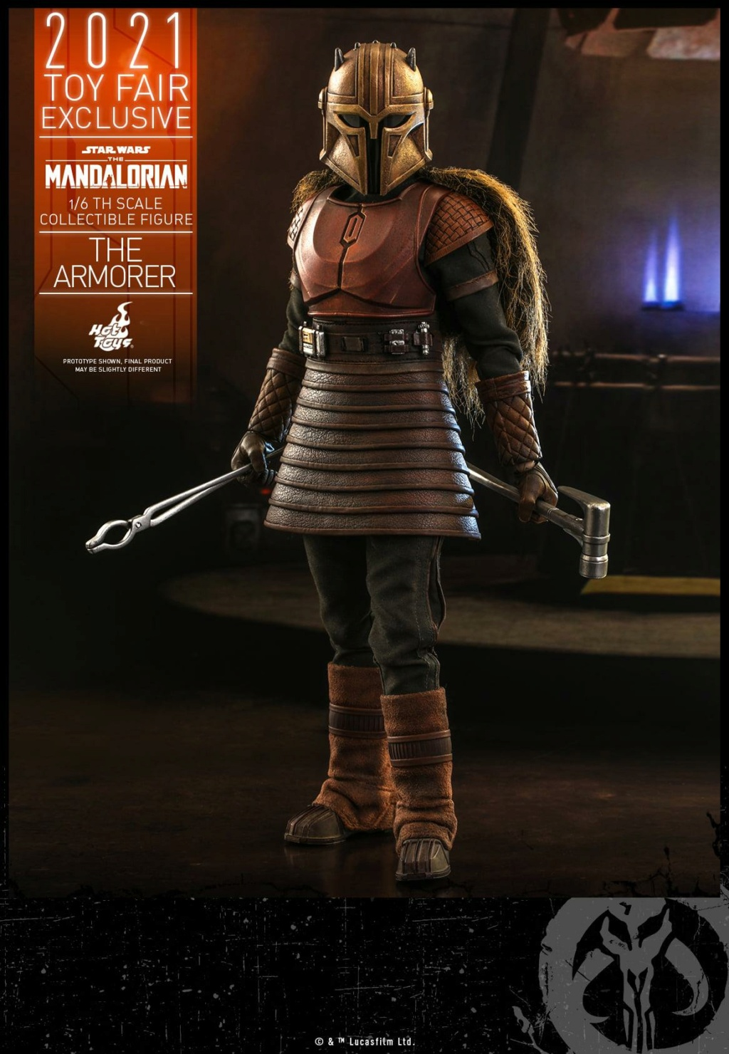 The Armorer Collectible Figure - 1/6th scale - Hot Toys The_ar17