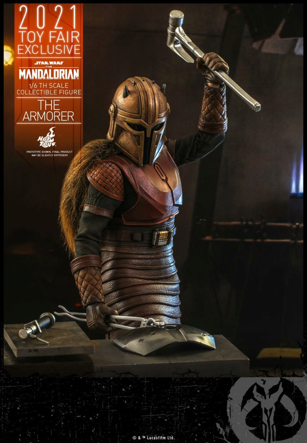 The Armorer Collectible Figure - 1/6th scale - Hot Toys The_ar18