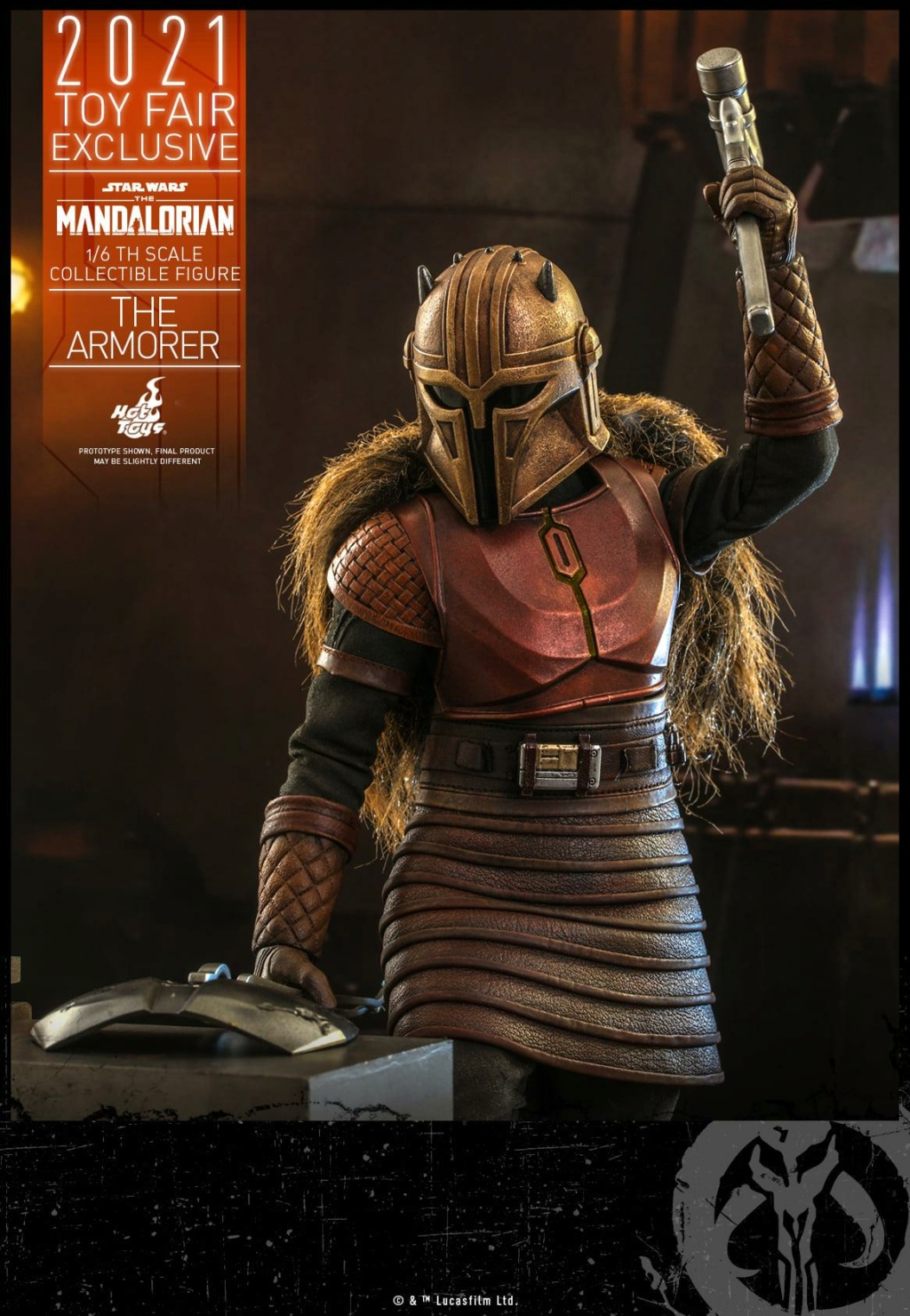 The Armorer Collectible Figure - 1/6th scale - Hot Toys The_ar19